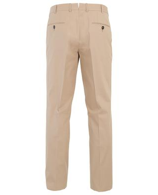 Cotton blend chino trousers ERMENEGILDO ZEGNA