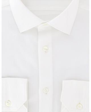 Milano plain cotton piqué shirt ERMENEGILDO ZEGNA