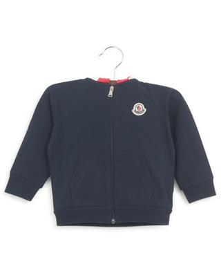 Baby track suit with tricolour hood MONCLER