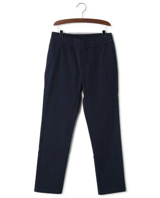 Cotton blend trousers with elasticated waist MONCLER