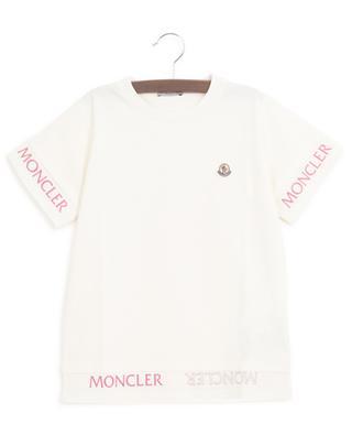 Logo print layer look jersey T-shirt MONCLER