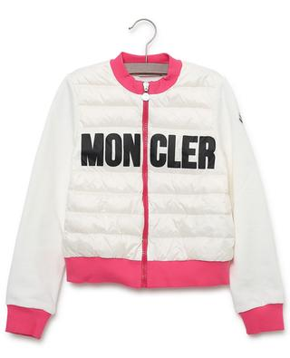Bi-material lightweight quilted jacket MONCLER