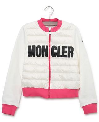 Bi-material lightweight quilted jacket MONCLER