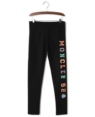 Embroidered cotton blend jogging trousers MONCLER
