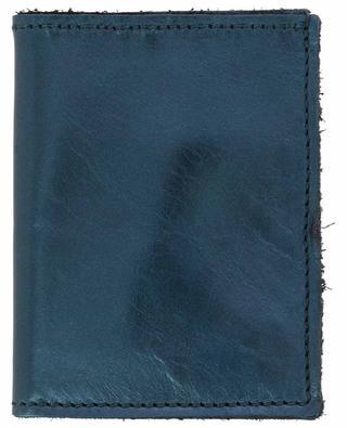 Porte-cartes en cuir métallisé Mini CB LOUISE CARMEN PARIS