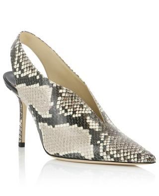 Slingback-Lederpumps in Python-Optik Saise 85 JIMMY CHOO