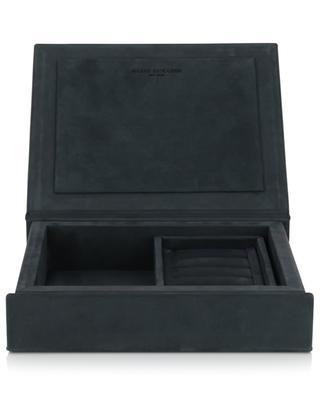 The Bookbox aniline leather jewellery box AUGUST SANDGREN