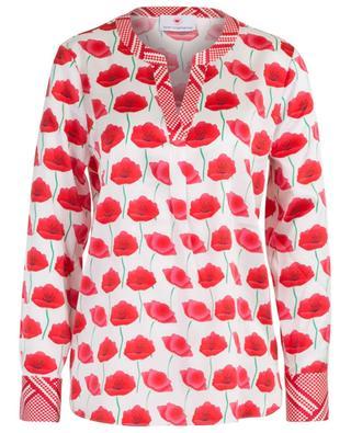 Poppy printed silk blouse HERZEN'S ANGELEHEIT