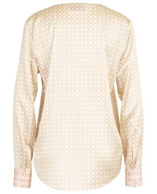 Bluse aus Seidenmix mit V-Ausschnitt HERZEN'S ANGELEHEIT