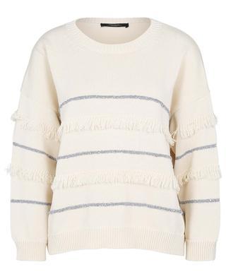 Elfo striped boxy cotton jumper WEEKEND MAXMARA