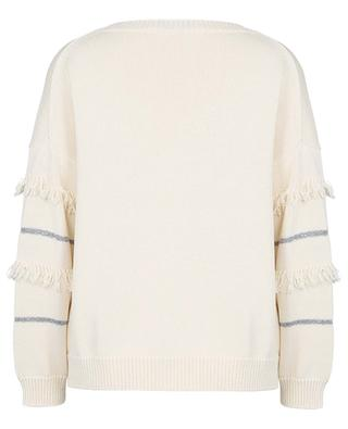 Elfo striped boxy cotton jumper WEEKEND MAXMARA