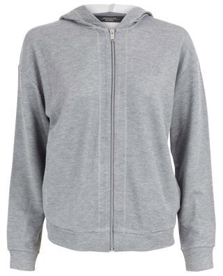 Sweat-shirt zippé en viscose mélangée Agro WEEKEND MAXMARA