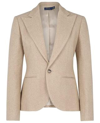 Cinched single-breasted blazer in brushed wool POLO RALPH LAUREN