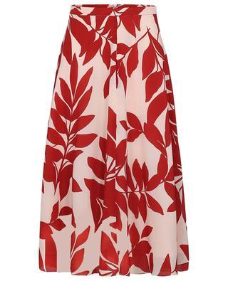 Snob flared printes silk skirt Snob MAX MARA STUDIO