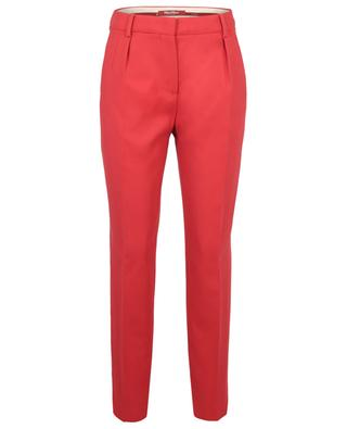 Gelato tapered trousers in cotton MAX MARA STUDIO