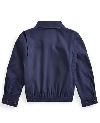 Pony embroidered water-resistant twill jacket POLO RALPH LAUREN