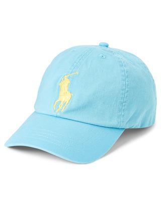 Big Pony embroidered chino cotton baseball cap POLO RALPH LAUREN