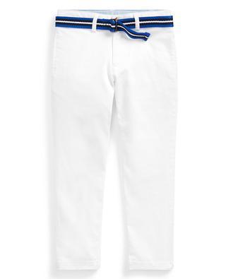 Pantalon chino skinny avec ceinture POLO RALPH LAUREN