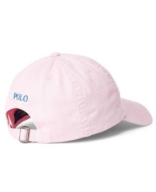 Pony embroidered chino cotton baseball cap POLO RALPH LAUREN