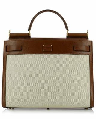 Sicily 62 canvas and cowhide tote bag DOLCE & GABBANA