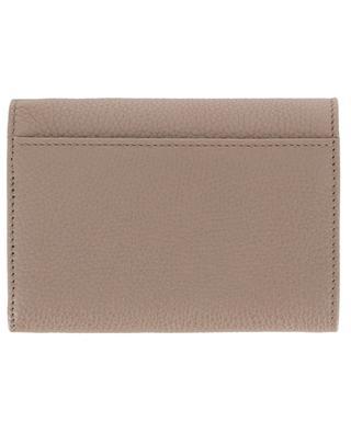 Kompakte Brieftasche aus genarbtem Leder DOLCE & GABBANA