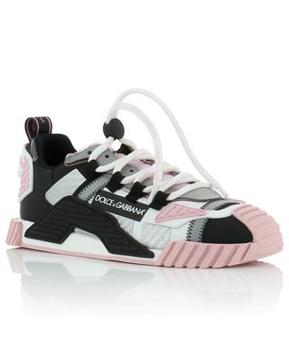 NS1 leather, suede and mesh low-top sneakers DOLCE & GABBANA