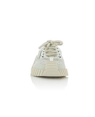 Baskets plates en cuir détails en dentelle NS1 DOLCE & GABBANA