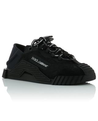NS1 low-top leather sneakers with lace details DOLCE & GABBANA