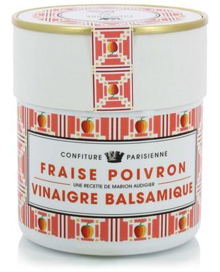 Konfitüre Fraise Poivron Vinaigre Balsamique CONFITURE PARISIENNE