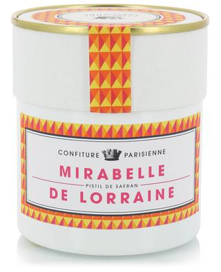Confiture Mirabelle de Lorraine Pistil de Safran CONFITURE PARISIENNE