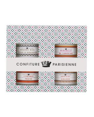 Geschenkbox Konfitüren Quatre Recettes CONFITURE PARISIENNE