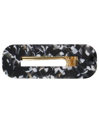 Black Marble hair clip LOLLIPOP THE BRAND