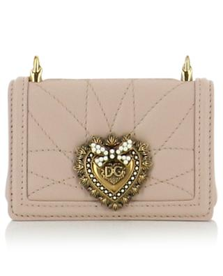 Devotion micro quilted leather shoulder bag DOLCE & GABBANA