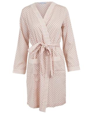 Noa printed cotton robe LAURENCE TAVERNIER