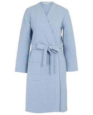 Mistral crinkled-effect cotton blend bathrobe LAURENCE TAVERNIER