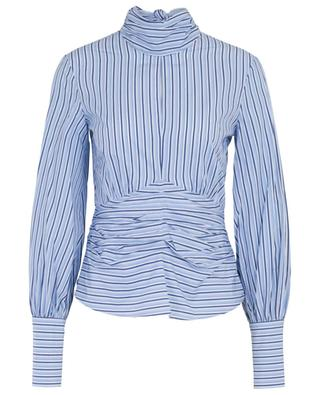 Striped top with gathering VICTORIA BY VICTORIA BECKHAM