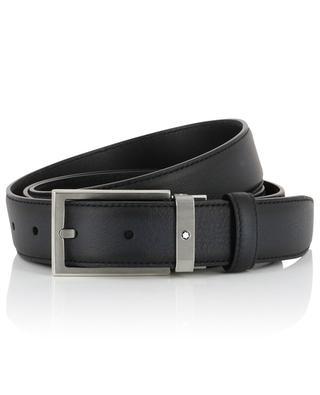 Sfumato grained leather belt MONTBLANC
