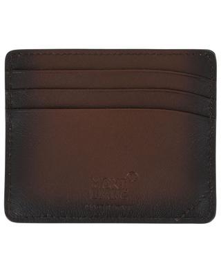 Porte-cartes en cuir Meisterstück Sfumato MONTBLANC