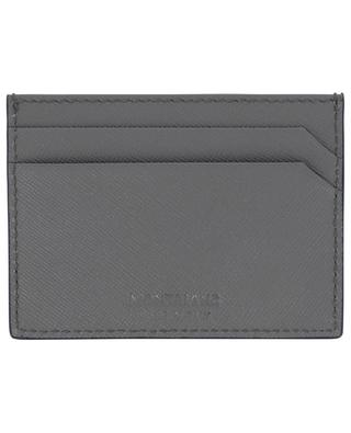 Sartorial Saffiano leather print card holder MONTBLANC