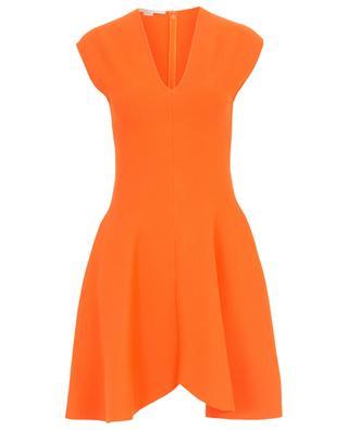 Kurzes ärmelloses Kleid aus Viskosestretch STELLA MCCARTNEY