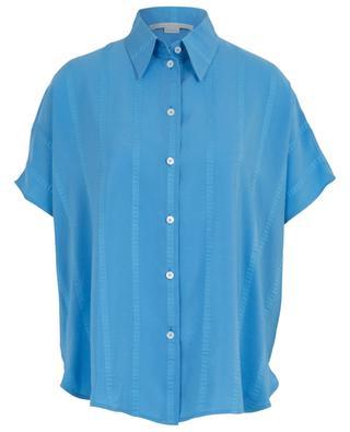 Kurzarm-Hemd aus Seidenmix STELLA MCCARTNEY