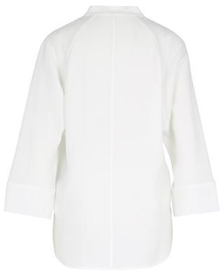 Weite Crêpe-Bluse mit Dreiviertelärmeln WINDSOR
