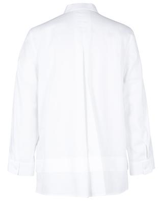 Chemise à col mao en coton oxford WINDSOR