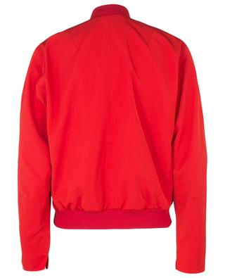 Zippered lightweight nylon bomber jacket WINDSOR