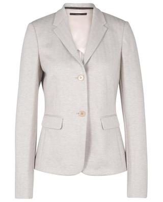 Herringbone patterned cinched jersey blazer WINDSOR