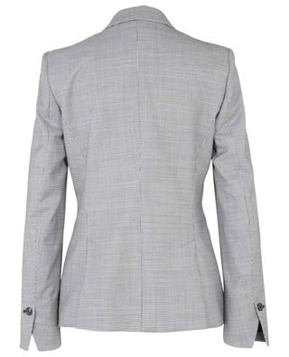 Single-breasted houndstooth check wool blazer WINDSOR