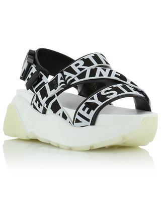 Eclypse wedge sandals with logo straps STELLA MCCARTNEY