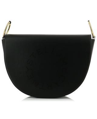 Marlee Logo perforated faux leather shoulder bag STELLA MCCARTNEY