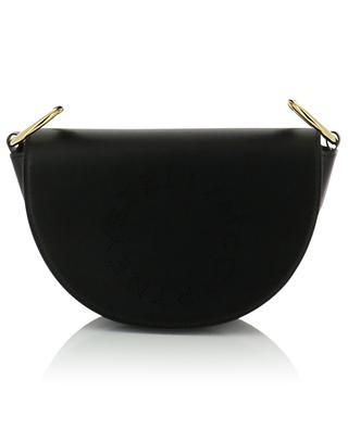 Mini Marlee Logo perforated faux leather shoulder bag STELLA MCCARTNEY