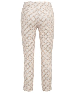 Pantalon stretch imprimé cordes Sabrina SEDUCTIVE